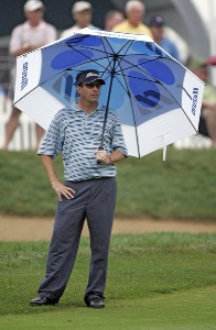 Billy Andrade during the second round of the 88th PGA Championship at Medinah Country Club in Medinah, Illinois, on August 18, 2006.Photo by Christopher Condon/WireImage.com