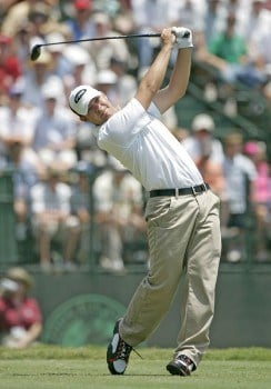 Ryan Moore during the second round of the 2005 U.S. Open Golf Championship at Pinehurst Resort course 2 in Pinehurst, North Carolina on June 17, 2005.Photo by S. Badz/WireImage.com