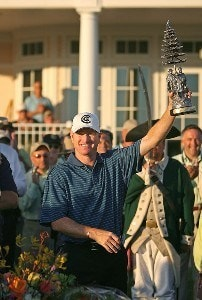 Steve Flesch wins the final round of the Turning Stone Resort Championship at Atunyote Golf Club September 23, 2007 in Verona, NY. PGA TOUR - 2007 Turning Stone Resort Championship - Final RoundPhoto by Mike Ehrmann/WireImage.com