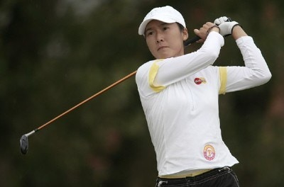 Taiwan's Candie Kung during the second round of the 2006 Weetabix Women's British Open at the Royal Lytham and St. Annes Golf Club in Lytham, Great Britain on August 4, 2006.Photo by Pete Fontaine/WireImage.com