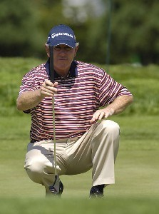 Hale Irwin during the third round of the JELD-WEN Tradition at The Reserve Vineyards & Golf Club in Aloha, Oregon on Saturday, August 26, 2006.Photo by Steve Levin/WireImage.com