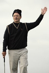 Bill Murray during a practice day at the 2006 Alfred Dunhill Links Championship on the St Andrews Old Course. October 3, 2006. European Tour- 2006 Alred Dunhill Links Championship- Practice - October 3, 2006Photo by Pete Fontaine/WireImage.com