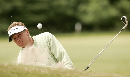 Paul Broadhurst during the final round of the 2005 KLM Open at Hilversumsche Golf Club. June 12, 2005Photo by Pete Fontaine/WireImage.com