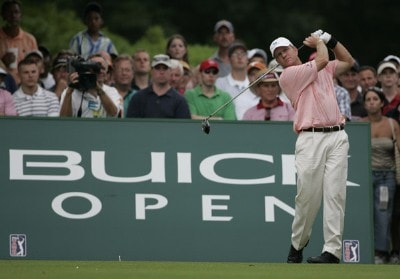 Scott Verplank during the fourth and final round of the Buick Open at Warwick Hills Golf and Country Club in Grand Blanc, Michigan on August 6, 2006.Photo by Michael Cohen/WireImage.com