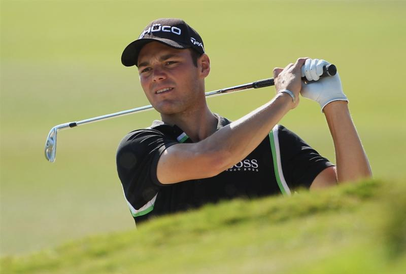 CASARES, SPAIN - MAY 22:  Martin Kaymer of Germany in action during the semi final of the Volvo World Match Play Championship at Finca Cortesin on May 22, 2011 in Casares, Spain.  (Photo by Andrew Redington/Getty Images)