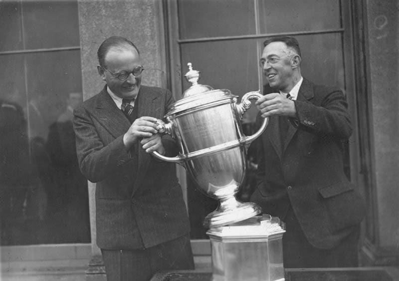 John Beck and Francis Ouimet, 1938 Walker Cup