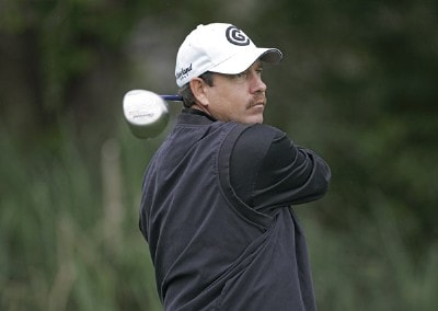 Bart Bryant during the first round for THE PLAYERS Championship held at the TPC Stadium Course in Ponte Vedra Beach, Florida on March 23, 2006.Photo by Michael Cohen/WireImage.com