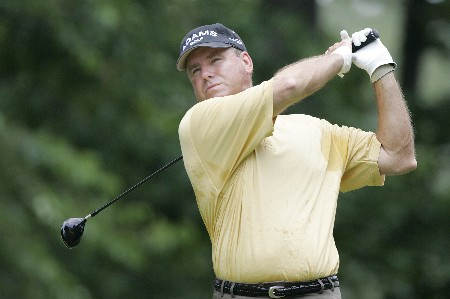 D.A. Weibring in action at the 5th during the final round of the Bruno's Memorial Classic, May 22,2005, held at Greystone GC, Birmingham, Al. Weibring shot 15 under par for the tournament.Photo by Stan Badz/PGA TOUR/WireImage.com