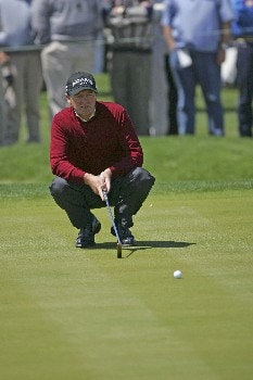Des Smyth wins the 2005 Libery Mutual Legends of Golf.  Sunday 04/24/2005Photo by Chris Condon/PGA TOUR/WireImage.com