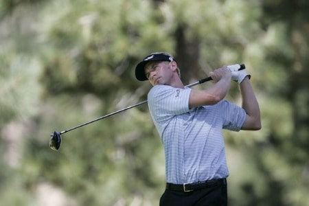 Vaughn Taylor wins Reno-Tahoe Open,  August 21,2005, held at Montreux GC, Reno, Nevada. He defended his win from last year.Photo by Stan Badz/PGA TOUR/WireImage.com