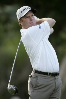 Jeff Sluman in action during the first round at the Sony Open, January 12,2006, held at Waialae Country Club, Honolulu, Hawaii.  Photo by: Stan Badz/PGA TOUR