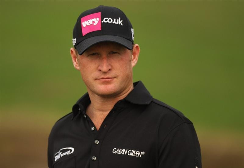 CHENGDU, CHINA - APRIL 22:  Jamie Donaldson of England in action during day two of the Volvo China Open at Luxehills Country Club on April 22, 2011 in Chengdu, China.  (Photo by Ian Walton/Getty Images)