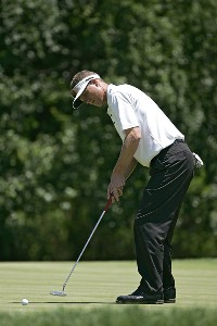John Senden during the final round of the Barclays Classic held at Westchester Country Club in Rye, New York on June 11, 2006.