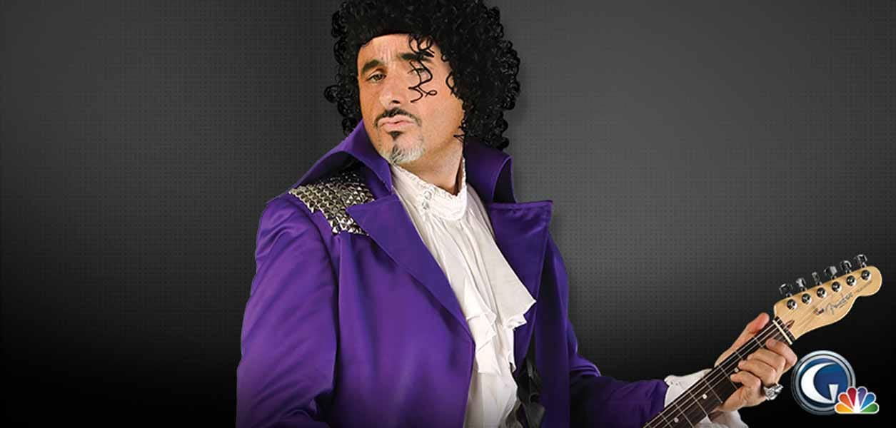 Feherty Dressed Up as Prince