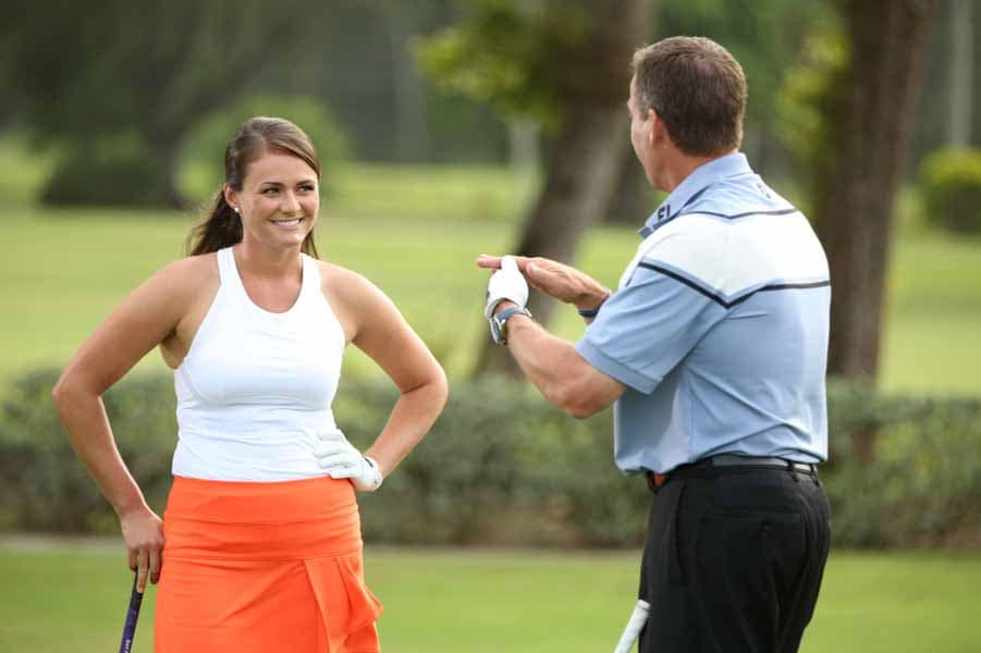 Stefanie Kenoyer and Michael Breed
