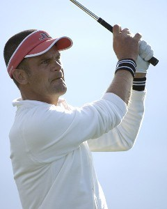 Jesper Parnevik  during the final round of the Bob Hope Chrysler Classic at The Classic Club   on Sunday, January 22, 2006 in Palm Desert, CaliforniaPhoto by Marc Feldman/WireImage.com