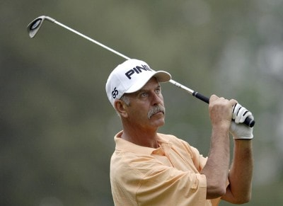 Mark James during the first round of the FedEx Kinko's Classic held at The Hills Country Club in Austin, TX, on April 28, 2006. Photo by: Steve Levin/WireImage.com