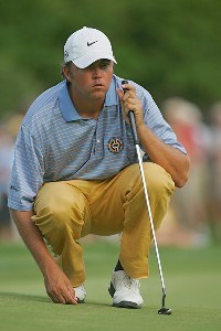 Bo Van Pelt during the third round of the 2006 Wachovia Championship at the Quail Hollow Club in Charlotte, North Carolina on May 6, 2006.Photo by Sam Greenwood/WireImage.com