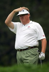 Tim Herron during the third round of the 88th PGA Championship at Medinah Country Club in Medinah, Illinois, on August 19, 2006.Photo by Sam Greenwood/WireImage.com