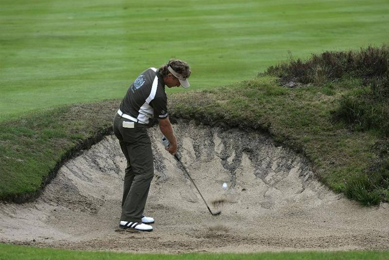 SUNNINGDALE, ENGLAND - JULY 23:  Bernhard Langer of Germany in action during the first round of The Senior Open Championship presented by MasterCard held on the Old Course, Sunningdale Golf Club on July 23, 2009 in Sunningdale, England.  (Photo by Phil Inglis/Getty Images)
