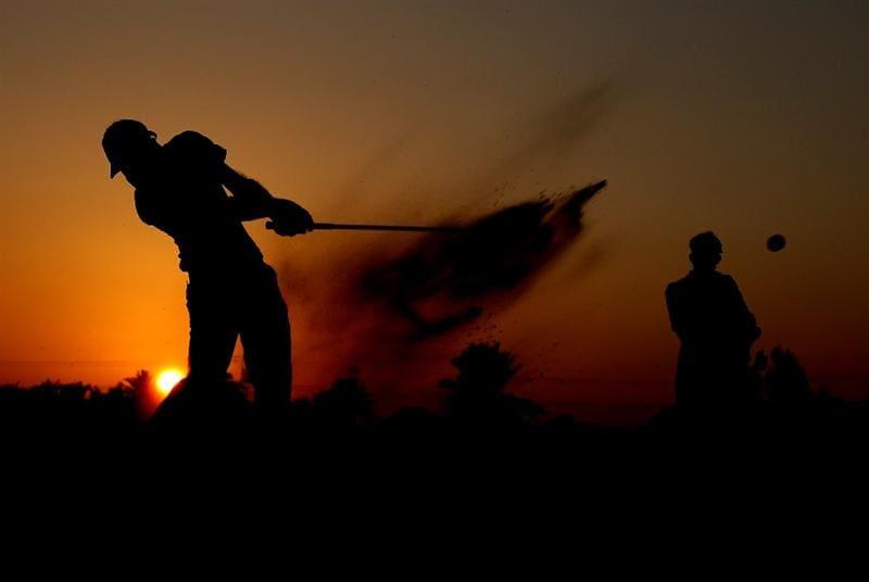ABU DHABI, UNITED ARAB EMIRATES - JANUARY 22: Othman Al Mulla of Saudi Arabia on the par four9th hole during the second round of the Abu Dhabi Golf Championship at the Abu Dhabi Golf Club on January 22, 2010 in Abu Dhabi, United Arab Emirates.  (Photo by Ross Kinnaird/Getty Images)