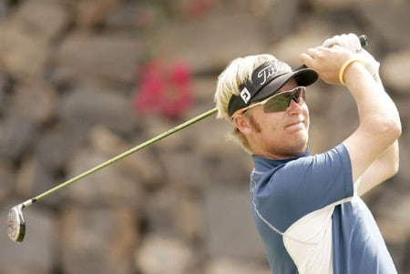 Mikko Ilonen during the third round of the 2005 Abama Open De Canarias at the Abama Golf Resort in Guia De Isora, Spain on October 8, 2005.Photo by Pete Fontaine/WireImage.com
