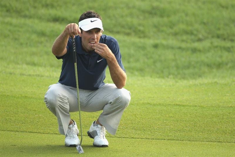 KUALA LUMPUR, MALAYSIA - APRIL 14:  Charl Schwartzel of South Africa looks on during the first round of the Maybank Malaysian Open at Kuala Lumpur Golf & Country Club on April 14, 2011 in Kuala Lumpur, Malaysia.  (Photo by Ian Walton/Getty Images)