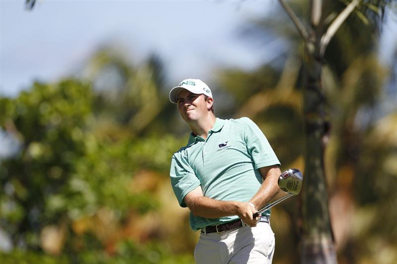 RIO GRANDE, PR - MARCH 12:  Michael Thompson hits his drive on the second hole during the third round of the Puerto Rico Open presented by seepuertorico.com at Trump International Golf Club on March 12, 2011 in Rio Grande, Puerto Rico.  (Photo by Michael Cohen/Getty Images)