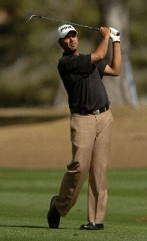 Arjun Atwal in action during the first round of the PGA's Tour 2005 Chrysler Classic of Tucson at the Omni Tucson National Golf Resort & Spa February 24, 2005 in Tuscon, Arizona