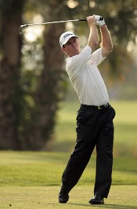 Skip Kendall in action during the second round of the 2007 Honda Classic on the PGA National Champion Course in West Palm Beach, Florida. March 2, 2007. PGA TOUR - The 2007 Honda Classic - Second RoundPhoto by Pete Fontaine/WireImage.com