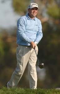 Brian Bateman in action during the second round of the PGA TOUR's 2006 Buick Invitationa at Torrey Pines South in La Jolla, California January 27, 2006Photo by Steve Grayson/WireImage.com