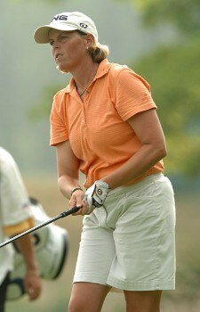 Wendy Ward in action during the third round of the 2005 Wendy's Championship for Children at the Tartan Fields Golf Club in Dublin, Ohio on Saturday August 27, 2005.Photo by Steve Grayson/WireImage.com