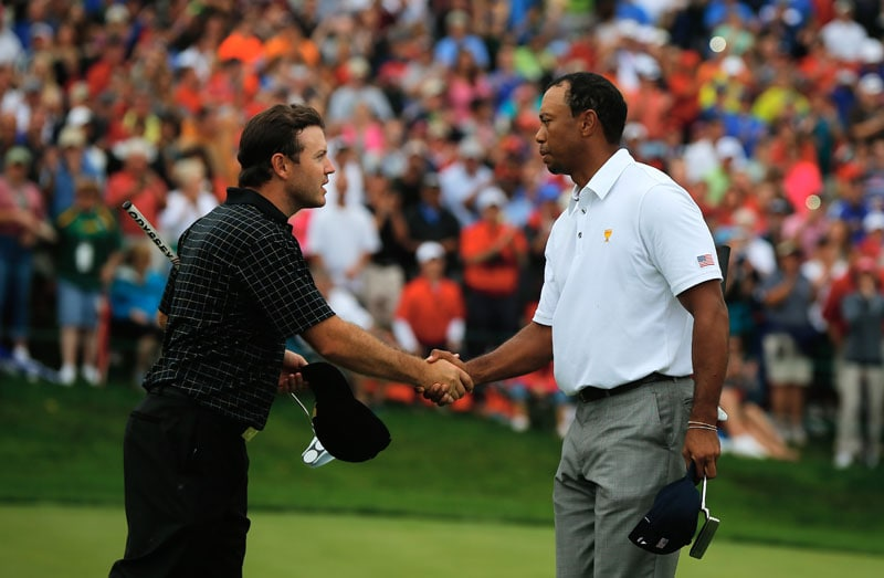 Richard Sterne, Tiger Woods