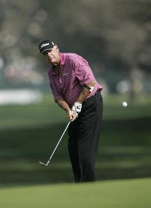 John Jacobs in action during the final round of the Champion's Tour 2007 AT&T Champions Classic at the Valencia Country Club in Santa Clarita, California on March 18, 2007. Champions Tour - 2007 AT&T Champions Classic - Final RoundPhoto by Steve Grayson/WireImage.com