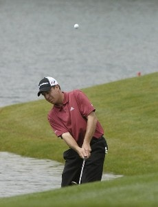 Todd Fischer during the second round of the Shell Houston Open at the Redstone Golf Club,Tournament Course, Humble, Texas, on Friday, April 21, 2006Photo by Marc Feldman/WireImage.com