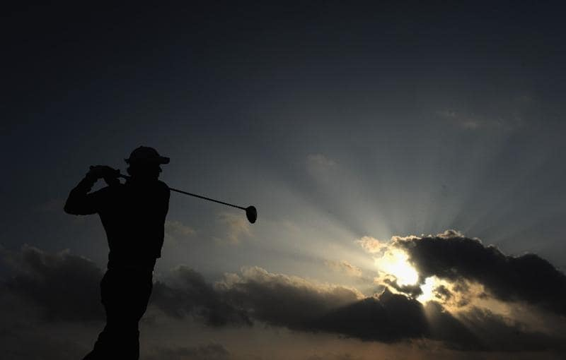 RAGUSA, ITALY - MARCH 18:  Chris Wood of England plays his tee shot on the 18th hole during the second round of the Sicilian Open at the Donnafugata golf resort and spa on March 18, 2011 in Ragusa, Italy.  (Photo by Stuart Franklin/Getty Images)