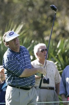 Joey Sindelar during the first round of THE PLAYERS championship at the Tournament Players Club at Sawgrass in Ponte Vedra Beach, Florida on March 24, 2005.