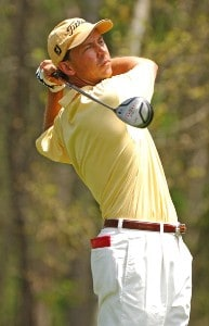 Jerry Smith during the Shell Houston Open at the Redstone Golf Club,Tournament Course in Humble, Texas on Sunday , April 23, 2006.Photo by Marc Feldman/WireImage.com