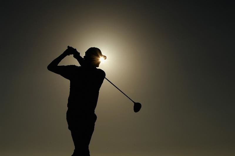 VILAMOURA, PORTUGAL - OCTOBER 16:  Maarten Lafeber of The Netherlands tee's off at the 18th during the third round of the Portugal Masters at the Oceanico Victoria Golf Course on October 16, 2010 in Vilamoura, Portugal.  (Photo by Richard Heathcote/Getty Images)