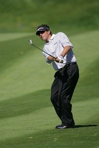 Billy Andrade during the final round of the Barclays Classic held at Westchester Country Club in Rye, New York on June 11, 2006.