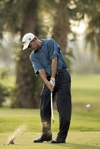 Stephen Leaney in action during the second round of the 2007 Honda Classic on the PGA National Champion Course in West Palm Beach, Florida. March 2, 2007. PGA TOUR - The 2007 Honda Classic - Second RoundPhoto by Pete Fontaine/WireImage.com