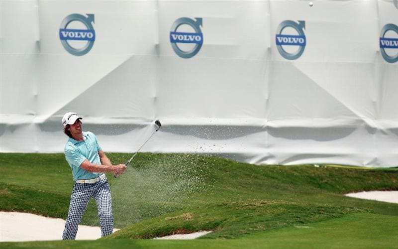 CASARES, SPAIN - MAY 20:  Aaron Baddeley of Australia in action during the group stages of the Volvo World Match Play Championship at Finca Cortesin on May 20, 2011 in Casares, Spain.  (Photo by Andrew Redington/Getty Images)