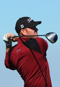Troy Matteson tees off the 8th hole during the second round of the Buick Invitational on January 25, 2008 at the Torrey Pines Golf Course in  La Jolla, California. PGA TOUR - 2008 Buick Invitational - Round TwoPhoto by Donald Miralle/Getty Images