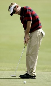 Brett Quigley during the second round of the 2006 FUNAI Classic at WALT DISNEY WORLD Resort on the Magnolia Course and the Palm Course in Lake Buena Vista, Florida, on October 20, 2006. PGA TOUR - 2006 FUNAI Classic at the WALT DISNEY WORLD Resort - Second RoundPhoto by Sam Greenwood/WireImage.com