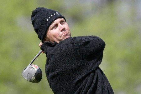 Bo Van Pelt in action during the first round  at The BellSouth Classic. April 2nd, 2005 held at the TPC Sugarloaf, Duluth, Georgia.