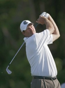 Bart Bryant in action during the first round of the Bay Hill Invitational presented by MasterCard at the Bay Hill Club in Orlando, Florida on March 16, 2006.Photo by Michael Cohen/WireImage.com