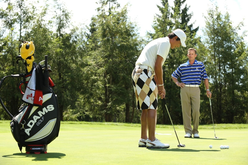 Big Break Academy Greenbrier, Michael Breed and Chan Song