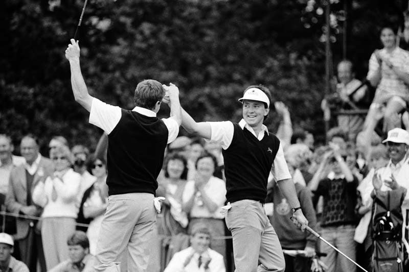 Jeremy Robinson and John McHenry, 1987 Walker Cup
