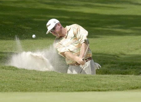 Frank Lickliter II during practice for the 2005 U.S. Open Golf Championship at Pinehurst Resort course 2 in Pinehurst, North Carolina on June 14, 2005.Photo by Marc Feldman/WireImage.com
