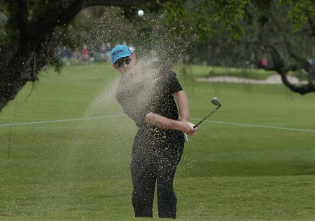 Frank Lickliter competes in first-round competition March 3, 2005  at the Ford Championship at Doral in Miami.